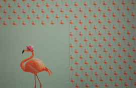 Paneel Flamingo Mint