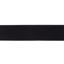 polyamide elastiek uni zwart 40 mm