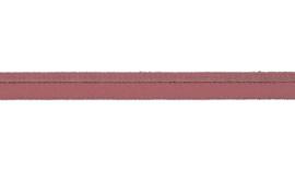 elastisch paspelband oud roze