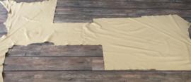 soepel beige leer 2,4 m2