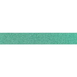 giltterelastiek 25 mm oud groen