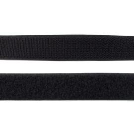klittenband 20 mm zwart