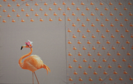 Paneel Flamingo Oud Roze