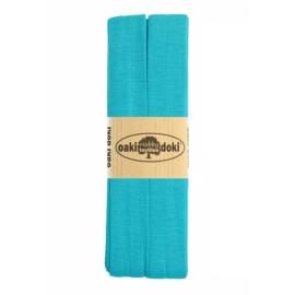 Jersey Biaisband 20 mm Aqua 3 Meter