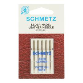 Schmetz ledernaalden 90/14 5 stuks