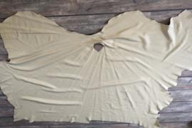 Mooi dik beige leer 2.85 m2