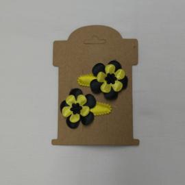 setje geel - zwart