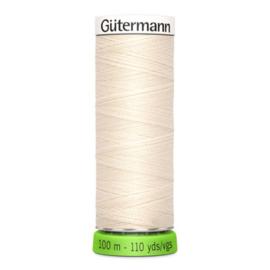 Naaigaren Gütermann R-Pet Ecru 802