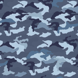 Jersey Camouflage Blue
