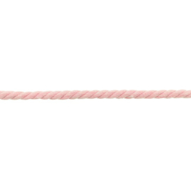 gedraaid koord 8 mm roze