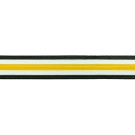 broekstreep elastiek oker 30 mm