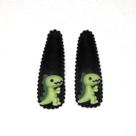 setje dino zwart - groen