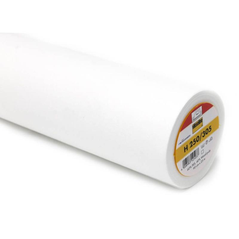 Vlieseline H250 Wit 90 cm Breed