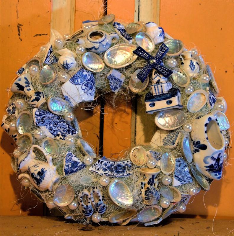 Delfts blauw molen