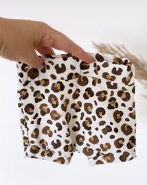 Short | leopard Brown