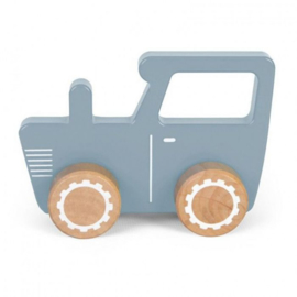Little Dutch | Tractor blauw