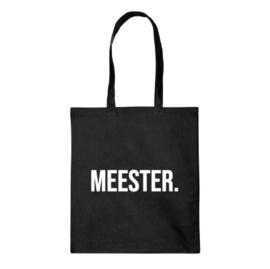 Katoenen tas   Meester.
