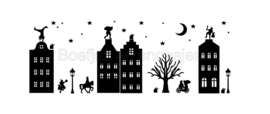 Raamstickers | Sinterklaasstraatje