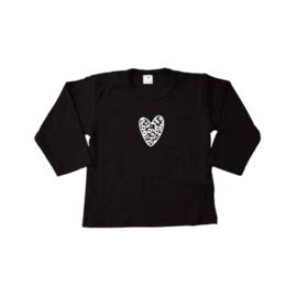 Shirt | Panter hartje