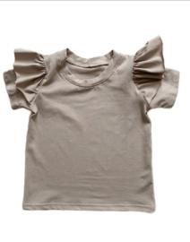 T-shirt   Ruffle sand
