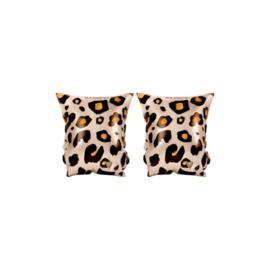 Zwembandjes leopard   2-6 jaar