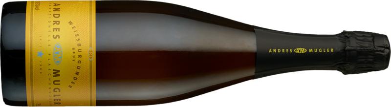 Sektkellerei Andres & Mugler, Pinot Blanc Brut 2018