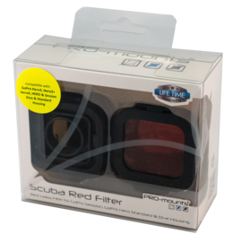 PRO-mounts Glass Filter RED (for H3, 3+, 4 & Session)