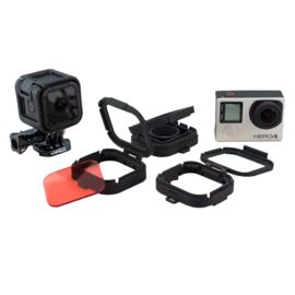 PRO-mounts Scuba Red Filter for GoPro* Hero3, 3+ & 4 (Standard & Dive Housing)