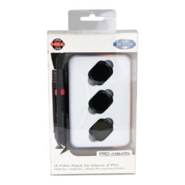 PRO-mounts 3-Filter Pack for Mavic 2 Pro (ND8/PL + ND16/PL + ND32/PL standard)