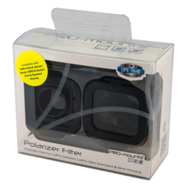 PRO-mounts Glass Filter Polarizer (for H3, 3+, 4 & Session)