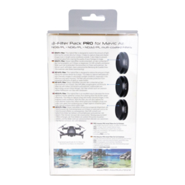 PRO-mounts 3-Filter Pack PRO for Mavic Air (ND8/PL + ND16/PL + ND32/PL Multi Coated)