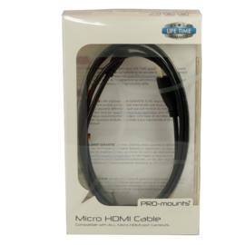 PRO-mounts Micro HDMI Cable
