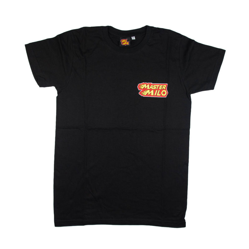 MasterMilo logo shirt zwart +Kids