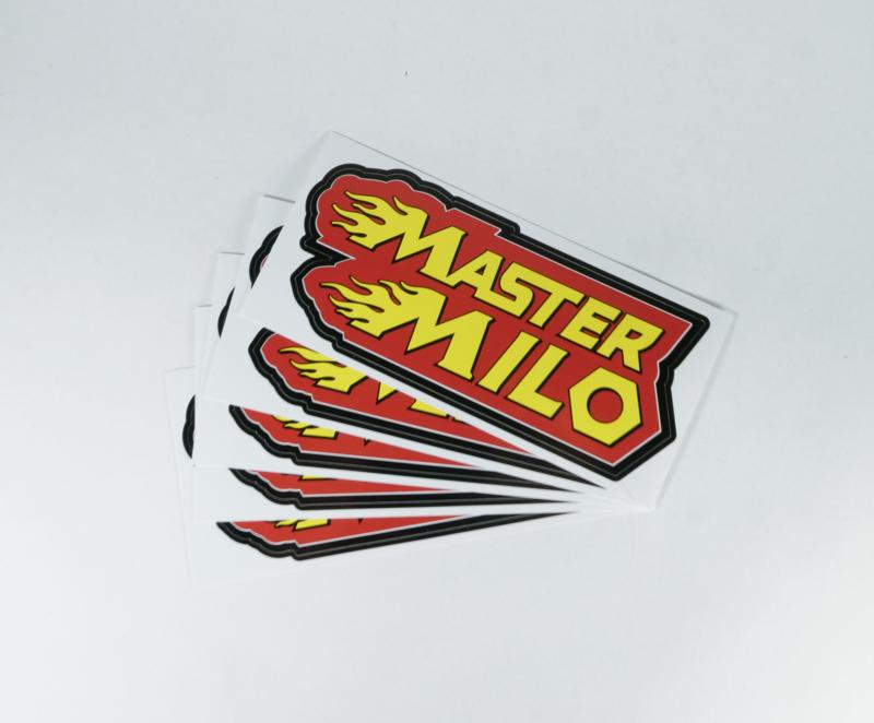 Hoog kwaliteit Mastermilo Sticker 5 stuks