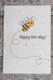 Happy bee-day!