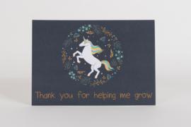 Kaartje: Thanks for helping me grow