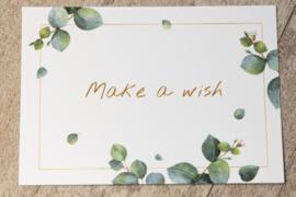 Kaartje: Make a wish