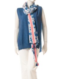Intropia Azuurblauwe Sjaal