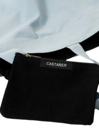 Castañer Grijsblauwe Canvas Tas