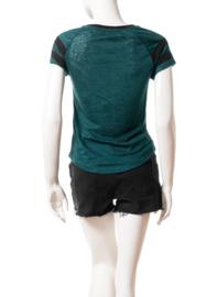 Intropia Donkergroen Shirt