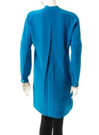 Intropia Azuurblauwe Zijden Tuniek