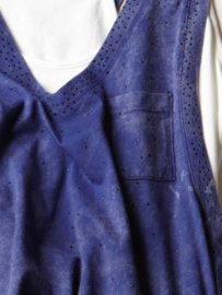 Intropia Inktblauwe Top