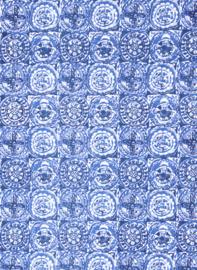 Intropia Delftsblauwe Sjaal