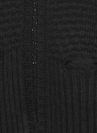 Intropia Stoer Zwart Vest