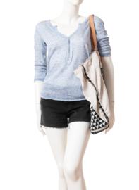 Intropia Lichtblauw Shirt