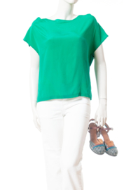 Intropia Smaragdgroen Shirt