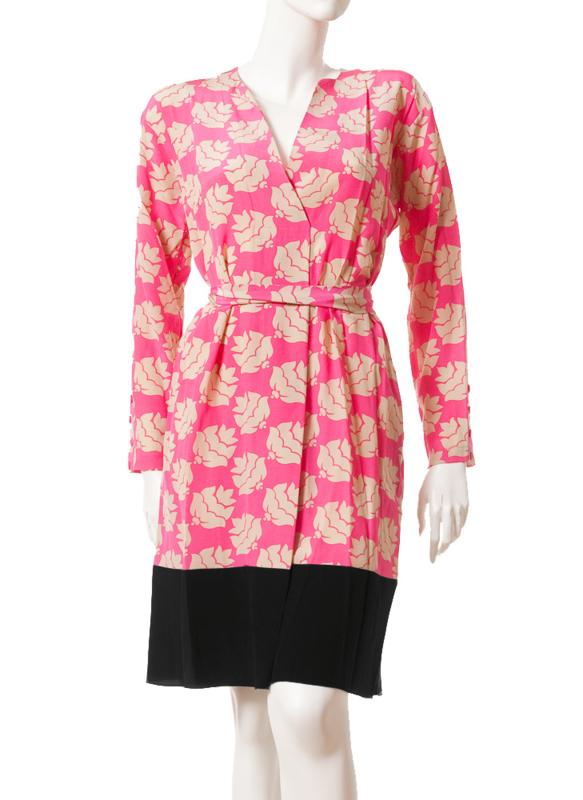 Intropia Zijden Kimono-Jurk