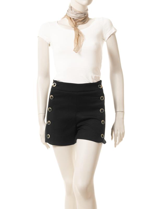 Intropia Zwarte Hotpants