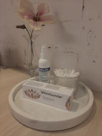 Desinfectie spray + Handwunder crème