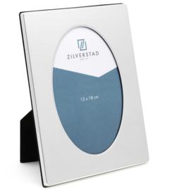 Zilverstad Fotolijst Oval zilver glans 13x18cm